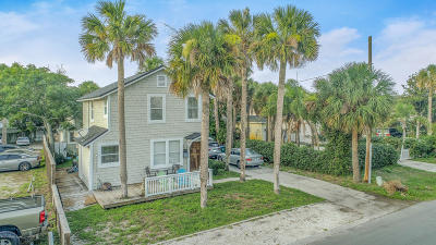 Neptune Beach Condo For Sale: 216 Walnut St #1