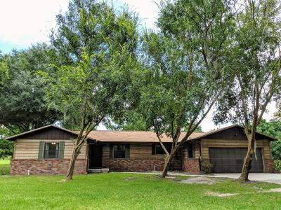 Starke Single Family Home For Sale: 9605 SE 49th Loop