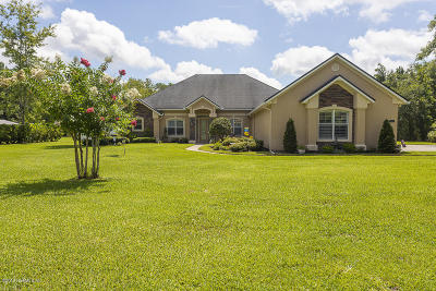 Jacksonville Single Family Home For Sale: 1394 Roberts Rd