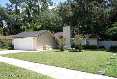 Jacksonville Single Family Home For Sale: 11651 Lake Ride Dr