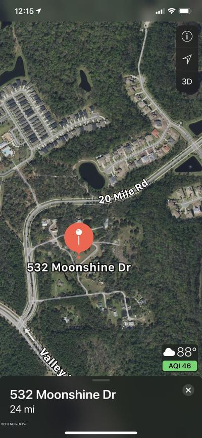 St. Johns County Residential Lots & Land For Sale: 532 Moonshine Dr