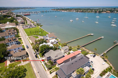 St Augustine Single Family Home For Sale: 103 Marine St