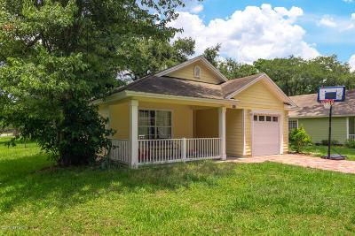 Jacksonville Single Family Home For Sale: 3901 Adirolf Rd