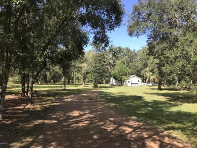 St. Johns County Single Family Home For Sale: 7380 County Road 208