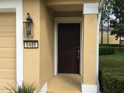 St. Johns County, Clay County, Putnam County, Duval County Rental For Rent: 6486 White Blossom Cir #26H