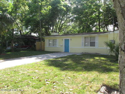 Jacksonville Single Family Home For Sale: 3530 Abby Ln
