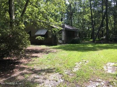 Jacksonville Single Family Home For Sale: 9541 Taylor Field Rd