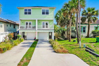 Jacksonville Beach Townhouse For Sale: 127 9th Ave N