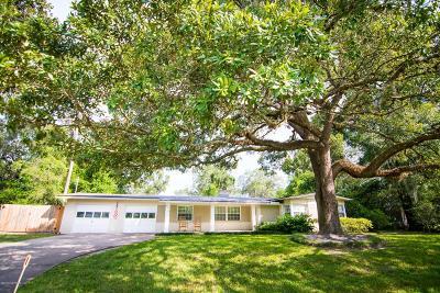 Jacksonville Single Family Home For Sale: 4714 Nottingham Rd
