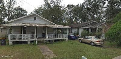 Jacksonville Single Family Home For Sale: 2348 McQuade St