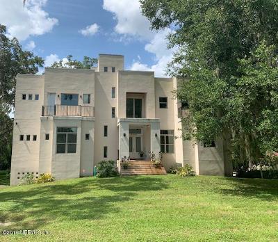 Single Family Home For Sale: 4468 Ortega Forest Dr