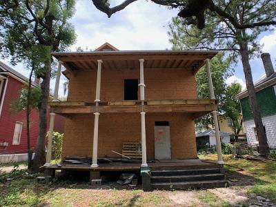 St. Johns County, Flagler County, Clay County, Duval County, Nassau County Single Family Home For Sale: 1438 Hubbard St