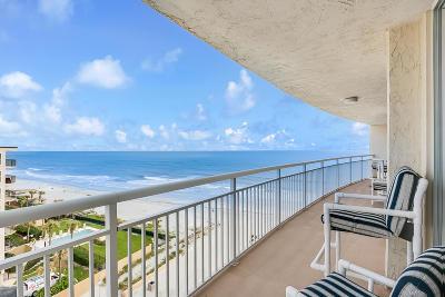 Jacksonville Beach Condo For Sale: 1601 Ocean Dr #701
