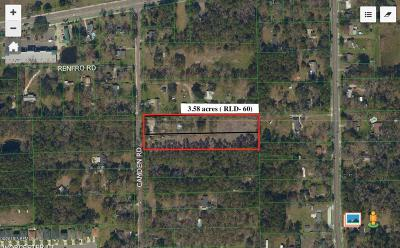 Residential Lots & Land For Sale: 12601 Camden Rd