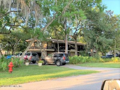 Neptune Beach Multi Family Home For Sale: 2142 Bay Rd