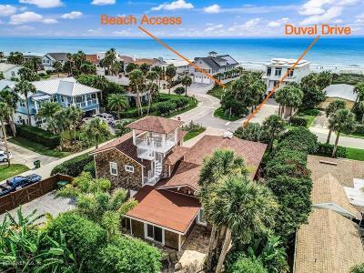 Jacksonville Beach Single Family Home For Sale: 3704 Duval Dr