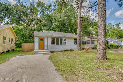 Murray Hill Single Family Home For Sale: 3516 Myra St