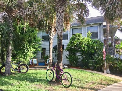 Neptune Beach Multi Family Home For Sale: 204 Florida Blvd