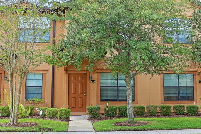 St. Johns County Townhouse For Sale: 613 Drake Bay Ter