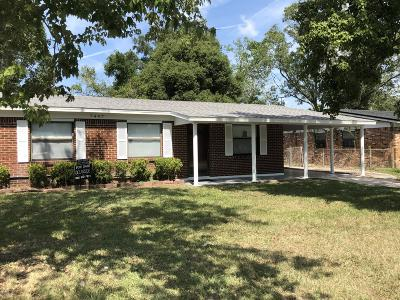 Jacksonville Single Family Home For Sale: 7447 Wheat Rd