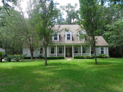Bryceville Single Family Home For Sale: 8030 Railroad Rd