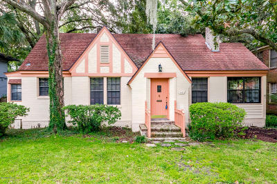 St. Johns County, Flagler County, Clay County, Duval County, Nassau County Single Family Home For Sale: 1621 Flagler Ave