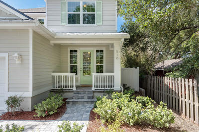 St Augustine Single Family Home For Sale: 510 Seventeenth St