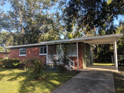 Jacksonville Single Family Home For Sale: 3928 Winton Dr