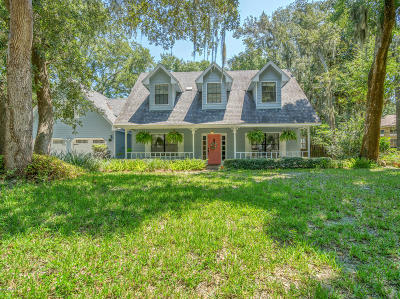 Fernandina Beach Single Family Home For Sale: 2138 Natures Gate Ct N