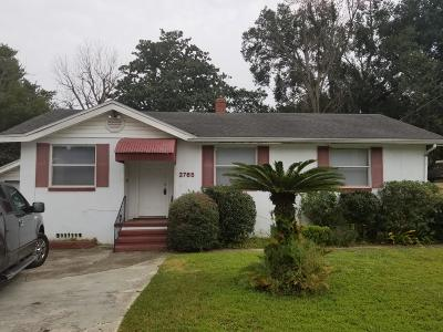 Jacksonville Single Family Home For Sale: 2765 Claremont Cir