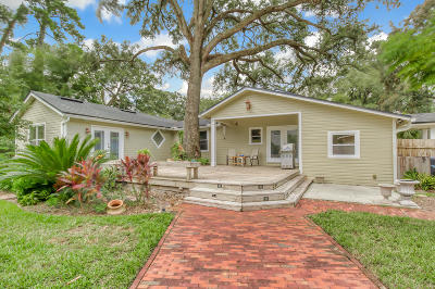 Jacksonville Single Family Home For Sale: 2939 Iroquois Ave