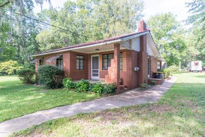 Jacksonville Single Family Home For Sale: 662 Manson Ln