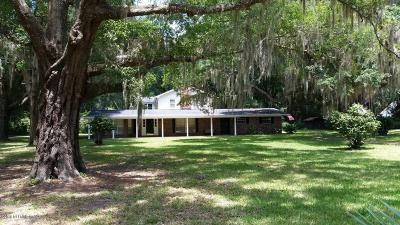 St. Johns County Single Family Home For Sale: 3339 State Rd 13