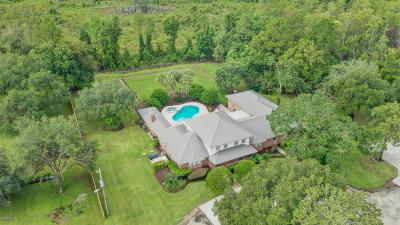 St Augustine Single Family Home For Sale: 5395c Church Rd
