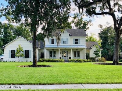 St Augustine Single Family Home For Sale: 345 Vale Dr