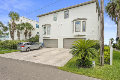 Neptune Beach Townhouse For Sale: 1610 Strand St