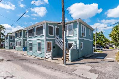 Neptune Beach Multi Family Home For Sale: 215 Midway St