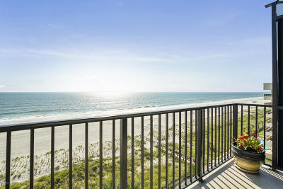 Jacksonville Beach Condo For Sale: 601 1st St S #7F