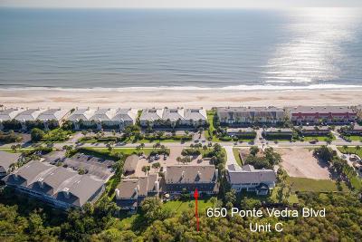 Ponte Vedra Beach Condo For Sale: 650 Ponte Vedra Blvd #C