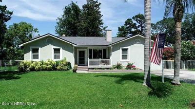 St Augustine Single Family Home For Sale: 105 Terrapin Rd