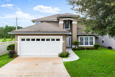 St Augustine Single Family Home For Sale: 1360 Wekiva Way