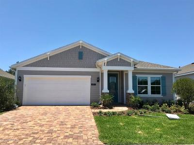 St. Johns County Single Family Home For Sale: 489 Broomsedge Cir