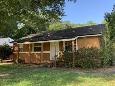 Jacksonville Single Family Home For Sale: 1300 Hamilton St