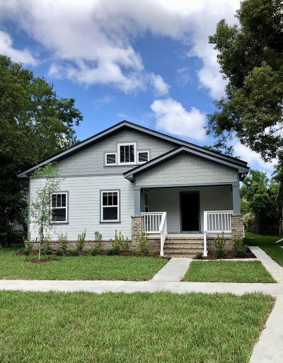 Duval County Single Family Home For Sale: 3875 Eloise St