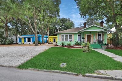 St Augustine Single Family Home For Sale: 21 Williams St