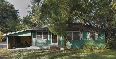 Jacksonville FL Single Family Home For Sale: $39,000