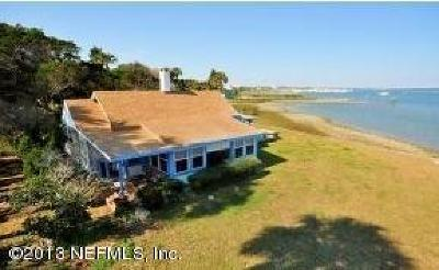 St Augustine Single Family Home For Sale: 5 Lighthouse