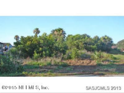 St. Johns County Residential Lots & Land For Sale: 6389 A1a South