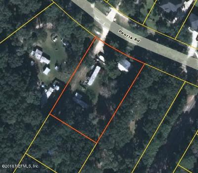 Orange Park Residential Lots & Land For Sale: 3102 Peoria Rd