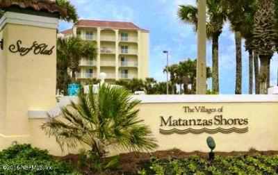 Palm Coast Condo For Sale: 80 Surfview Dr #619